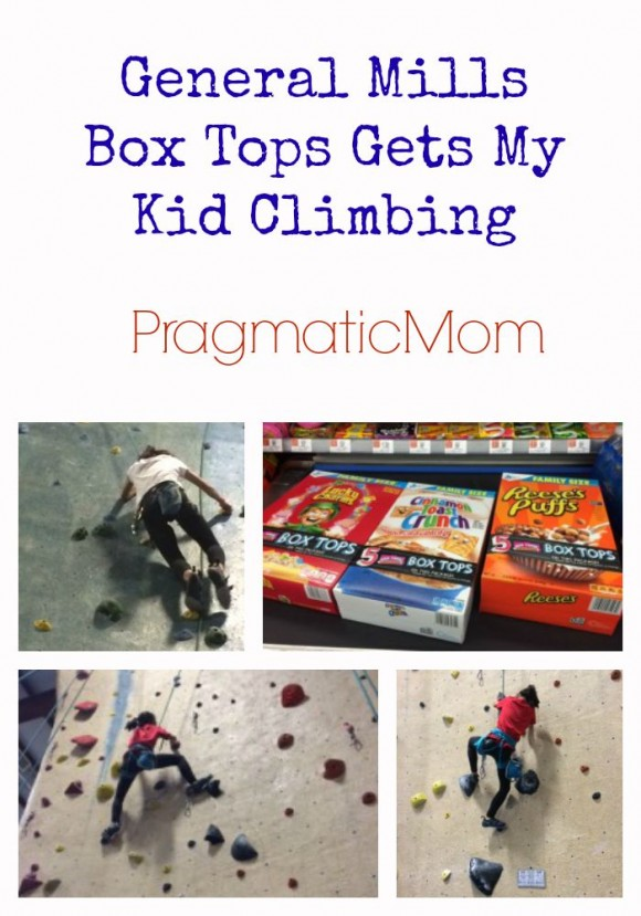 General Mills Box Tops Gets My Kid Climbing