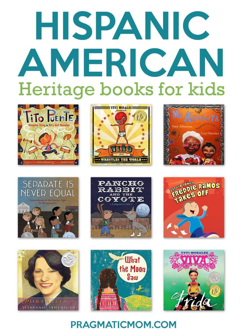 Hispanic American Heritage Books For Kids