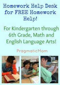 Homework Help Desk for FREE Help!