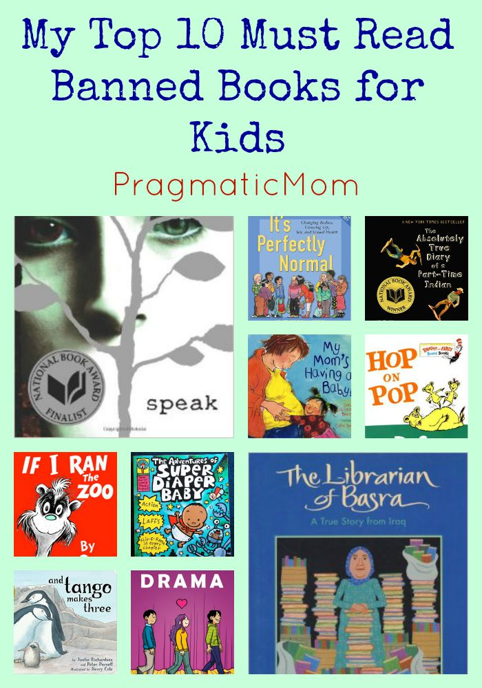 Top 10 Must Read Banned Books for Kids – PragmaticMom bae63e688f5b2