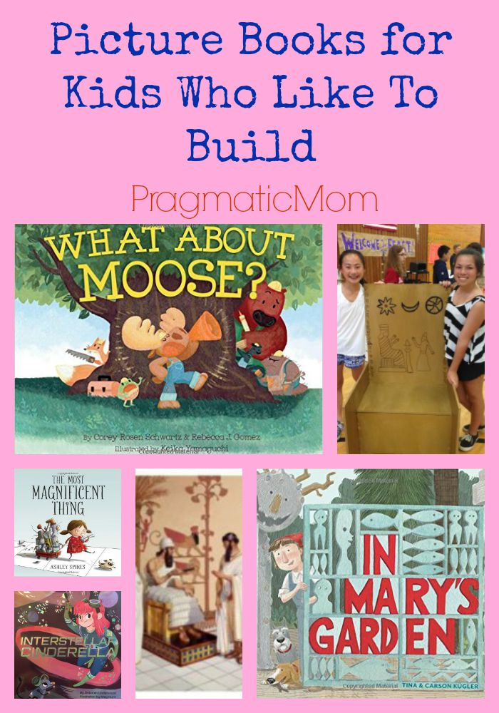 Picture Books for Kids Who Like To Build