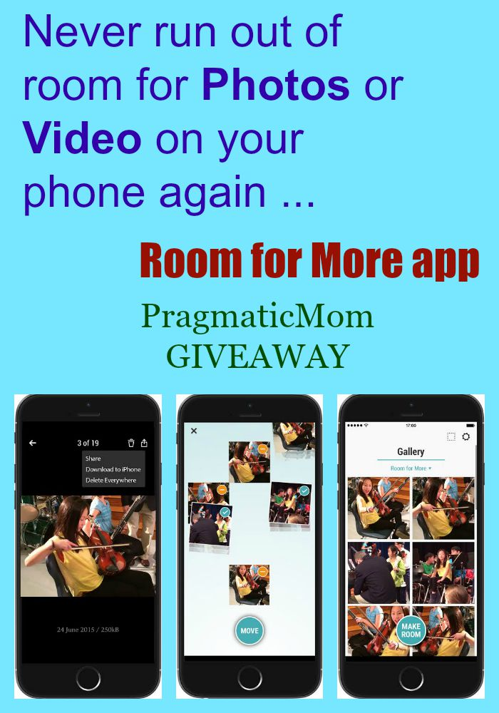 Room for More app