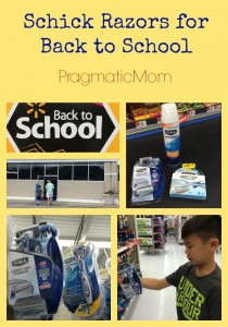 Schick Razors for Back to School