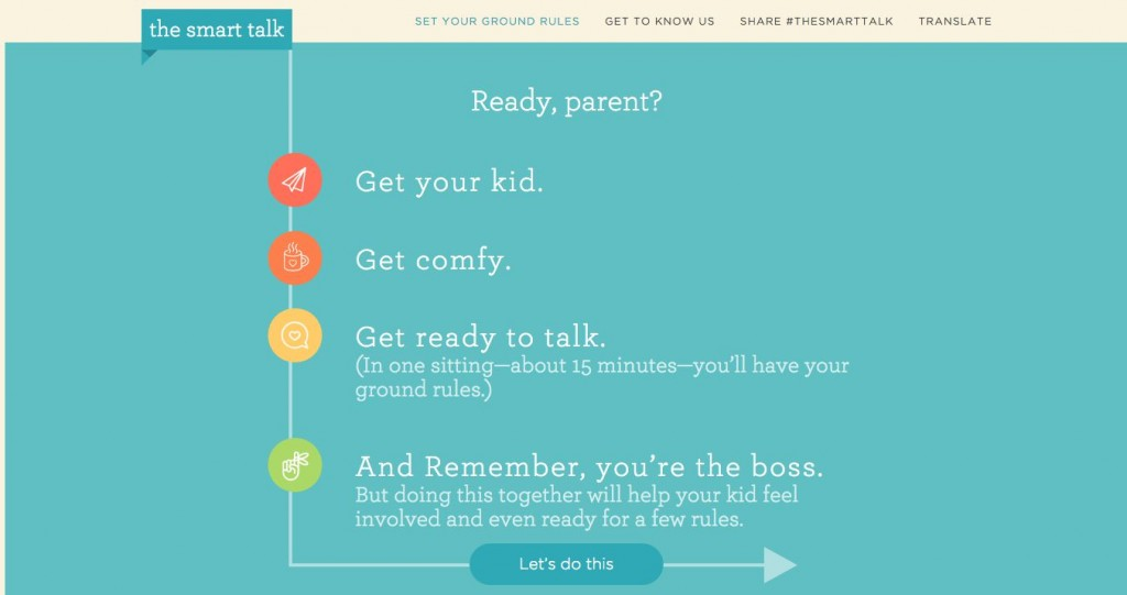 The Smart Talk Computer Safety Contract for Kids and Parents