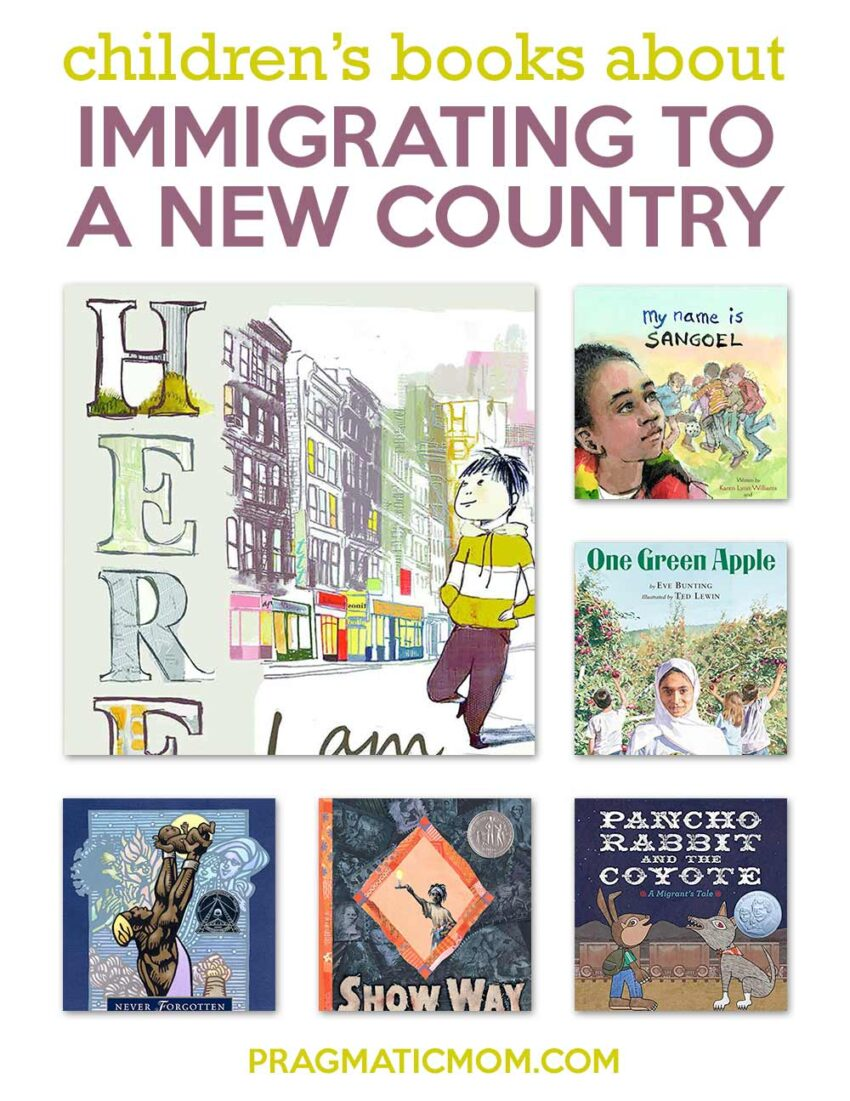 Children's Books about Immigrating to a New Country