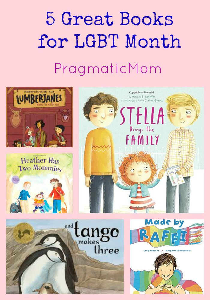 5 Great Books for LGBT Month & Kid Lit Blog Hop