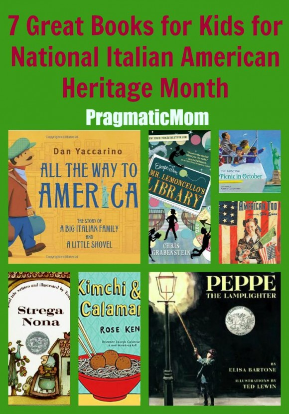 7 Great Books for Kids for National Italian American Heritage Month