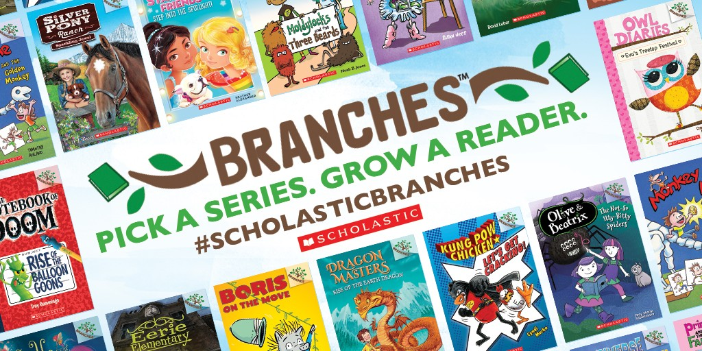 scholastic branches early chapter books