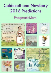 Caldecott and Newbery 2016 Predictions