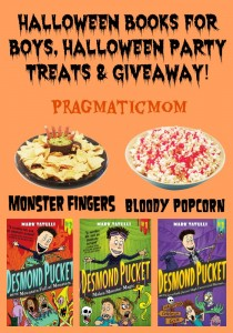 Halloween Notebook Novels for Boys & GIVEAWAY!