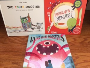 monster picture book giveaway