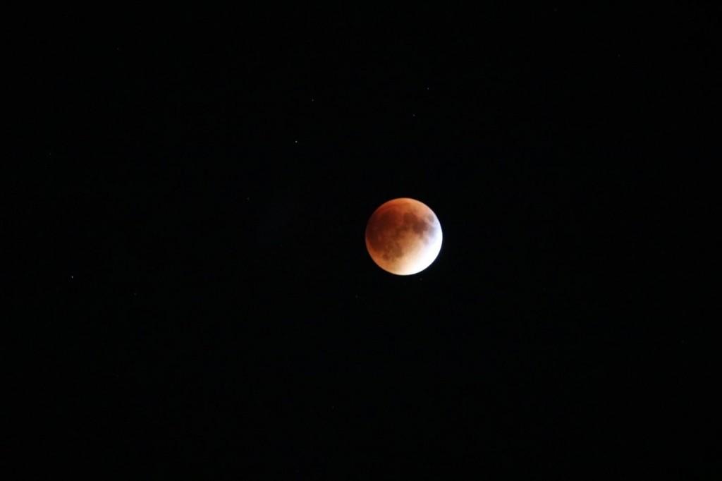 Boston Bloodmoon super moon lunar eclipse