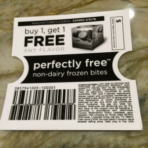 Perfectly Free frozen desserts