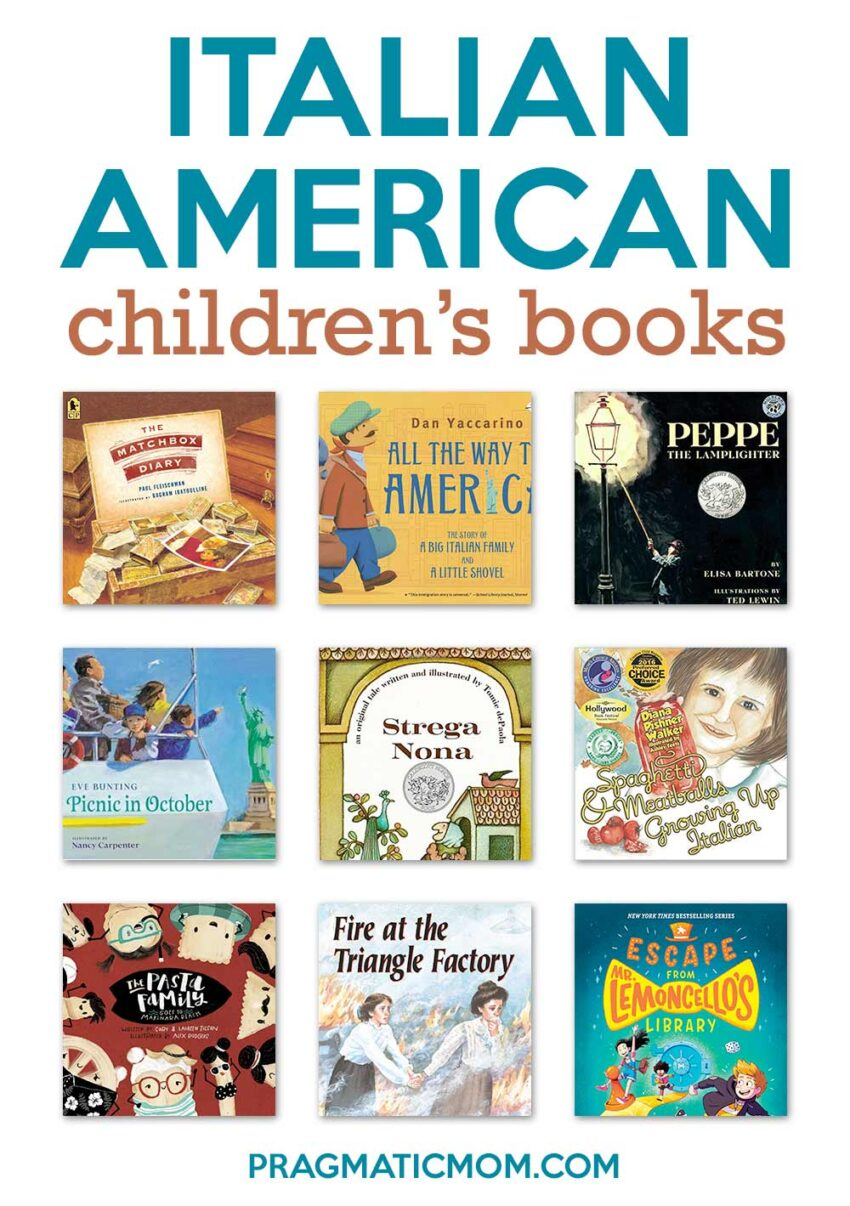 8 Great Books for Kids for National Italian American Heritage Month