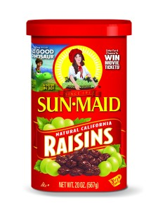 Sun Maid Raisins and The Good Dinosaur