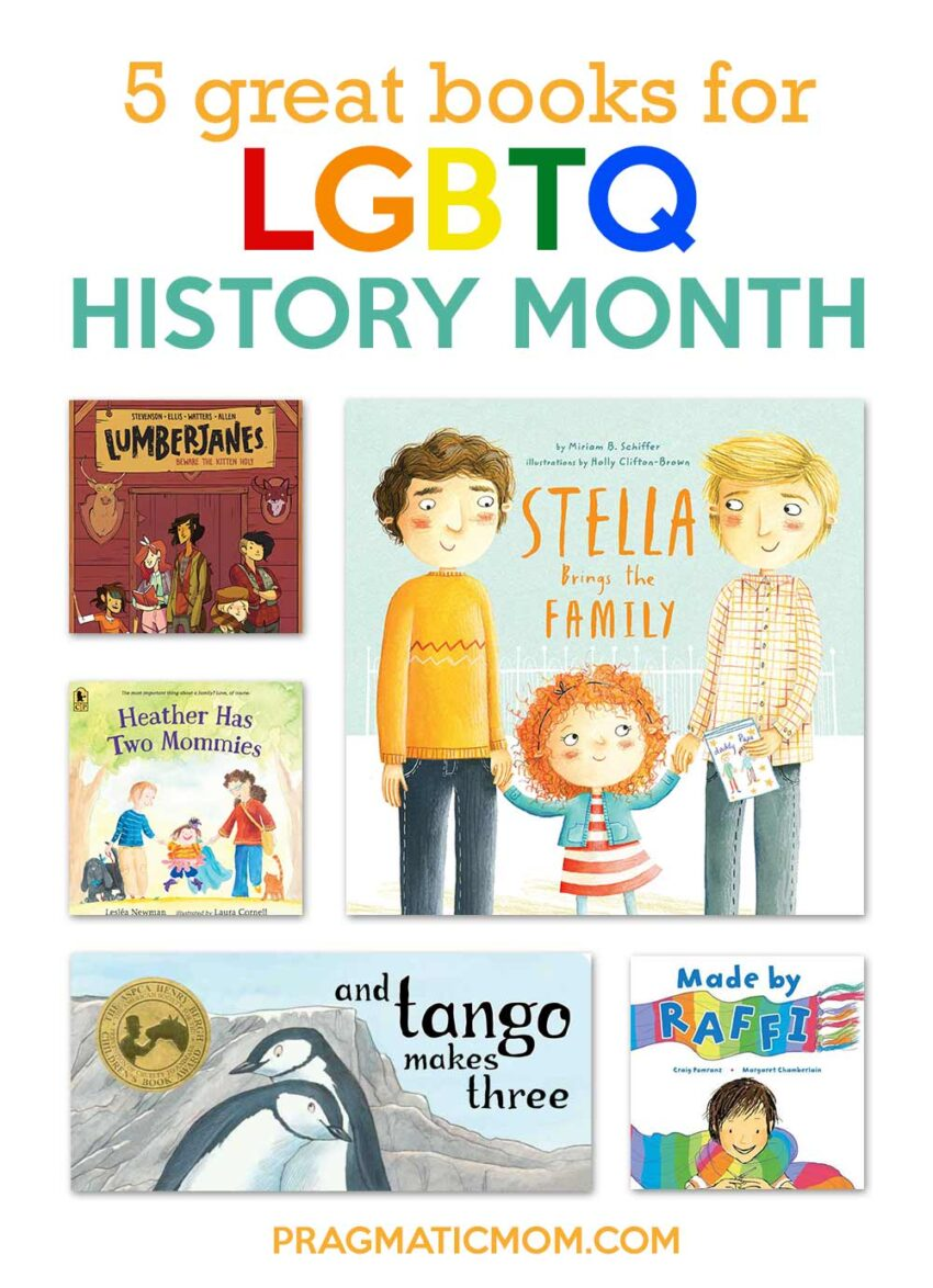 5 Great Books for LGBT History Month