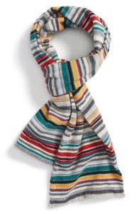 Paul Smith Multistripe Knit Scarf