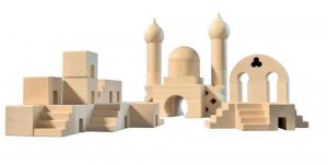 Middle Eastern Architectural Blocks