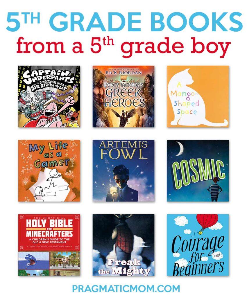 5th Grade Books from a 5th Grade Boy