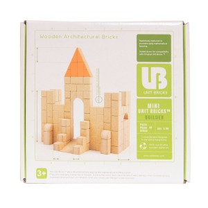 Mini Unit Bricks Architecture Set