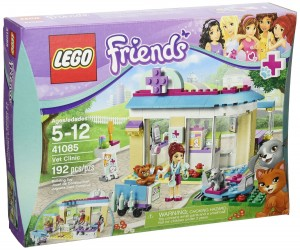 Lego friends vet clinic kit