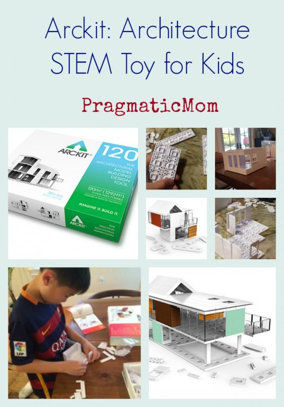 Arckit STEM architect toy for kids