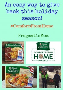 Giving Back #ComfortsFromHome