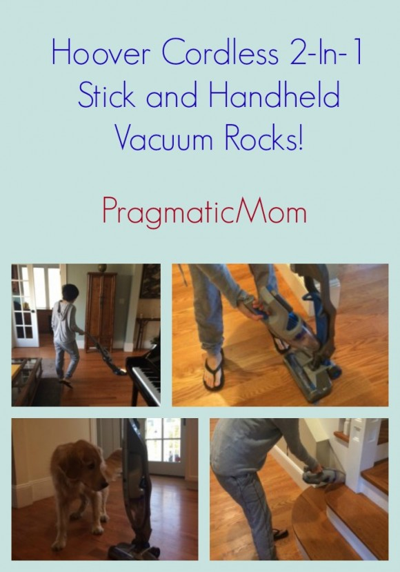 Hoover Cordless 2-In-1 Stick and Handheld Vacuum Rocks!