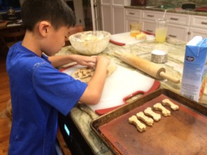 DIY gifts, peanut butter banana dog biscuit recipe
