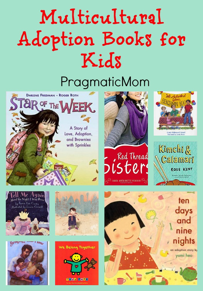 Multicultural Adoption Books for Kids
