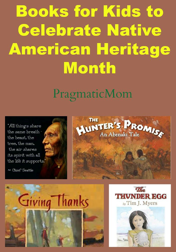 Native American Heritage Month Books for Kids