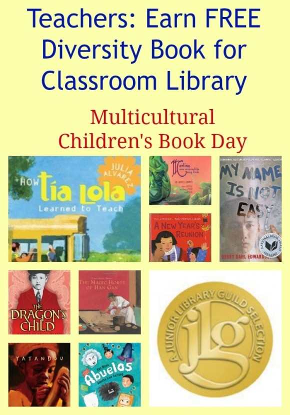 Teachers: Earn FREE Diversity Book for Classroom Library