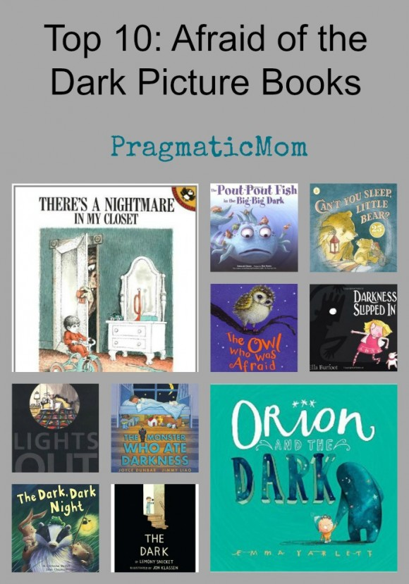 Top 10: Afraid of the Dark Picture Books