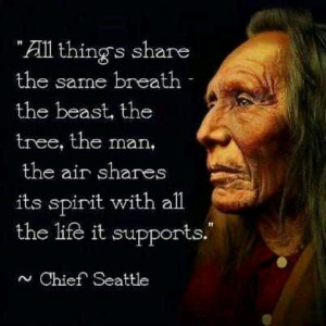 Chief Seattle's Thoughts