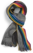 Paul Smith Rainbow Knit Scarf