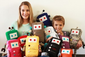 Army Of Plush Robot Toys With A Mission To Better The World