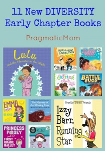 11 New DIVERSITY Early Chapter Books