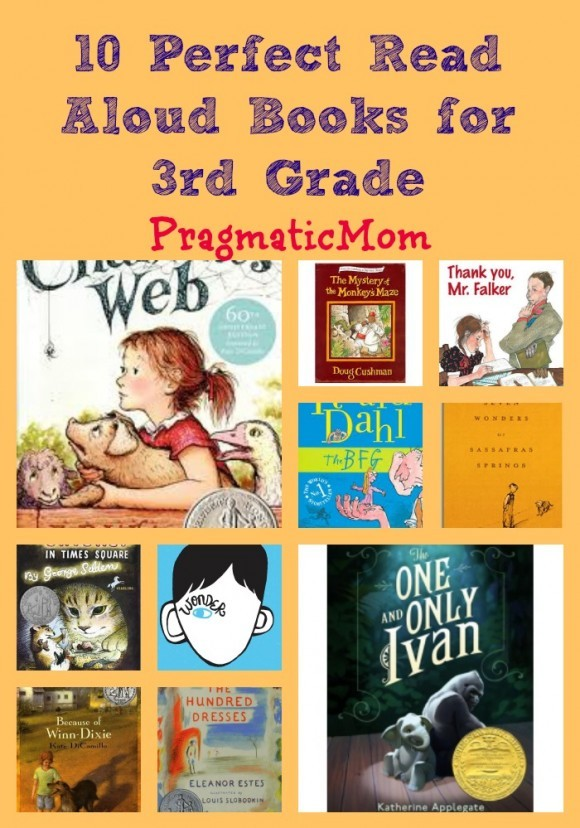 10 Perfect Read Aloud Books for 3rd Grade