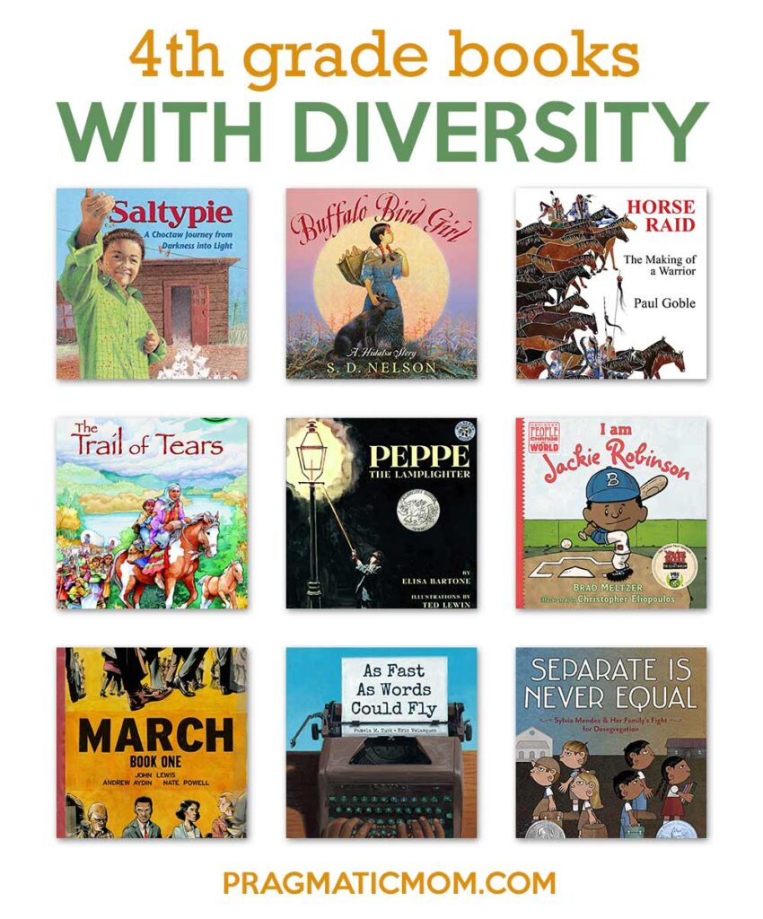 4th Grade Books with Diversity
