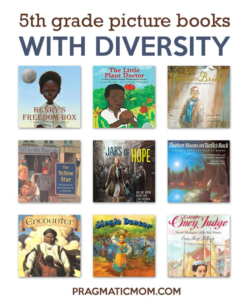 5th Grade Picture Books with Diversity