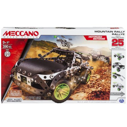build your own ATV car, Meccano Mountain Rally