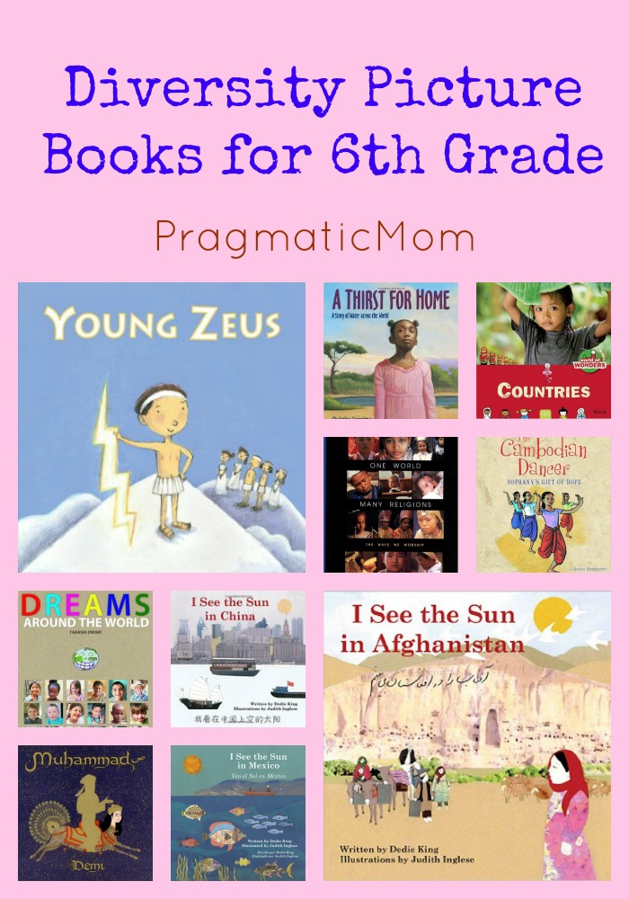 Diversity Picture Books for 6th Grade