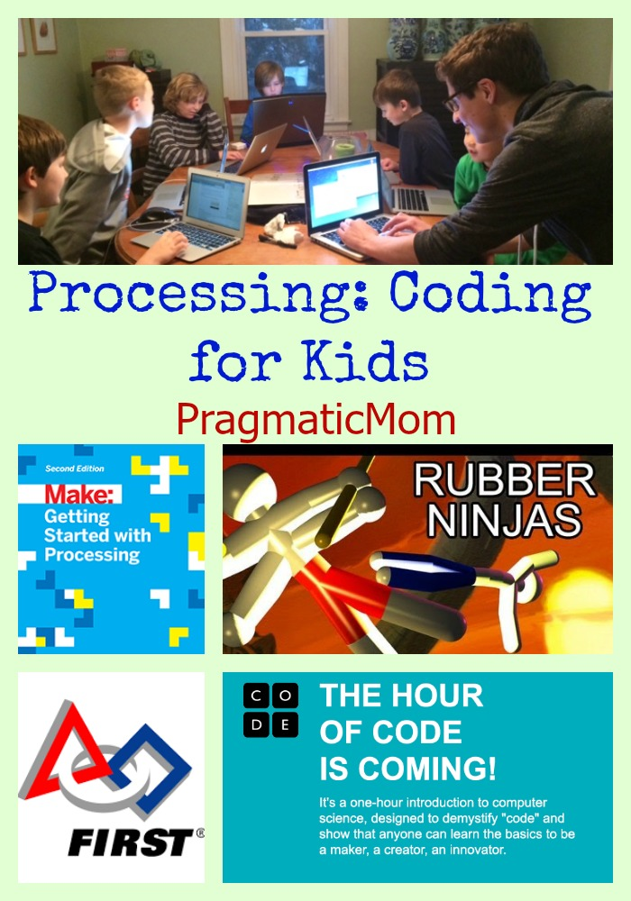 Processing: Coding for Kids