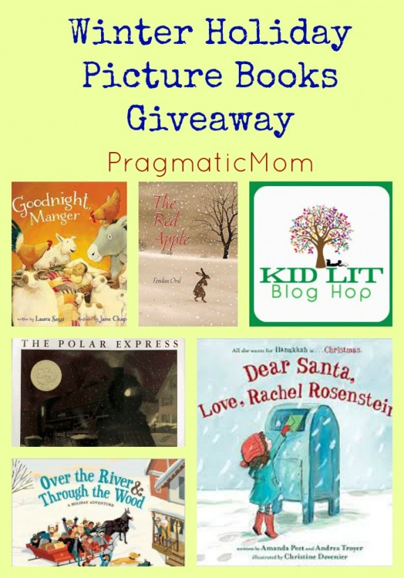 Winter Holiday Picture Books Giveaway