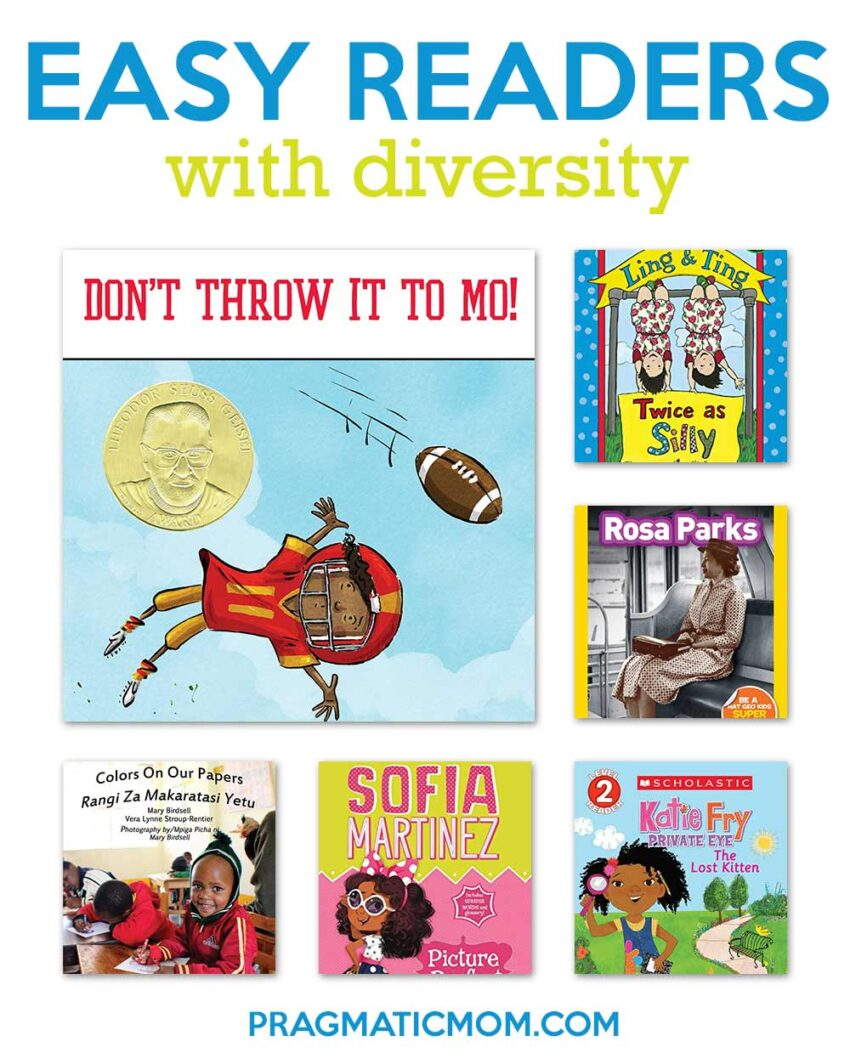 7 Great NEW Diversity Easy Readers