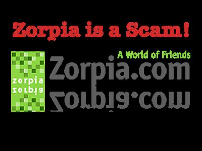 Zorpia is a Pfishing Scam: BEWARE!!