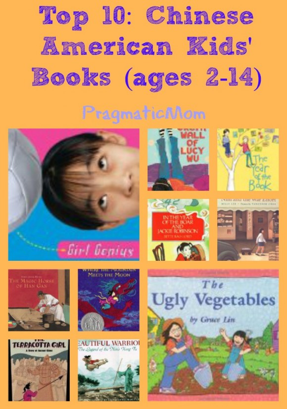 Top 10: Chinese American Children's Books (ages 2-14)