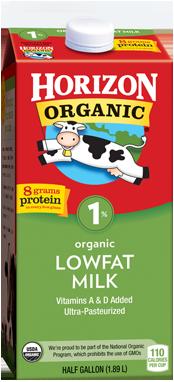 Horizon Organics 1% Lowfat Milk