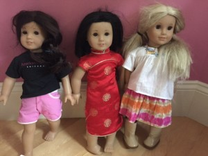 Our American Girl doll collection was passed onto another family