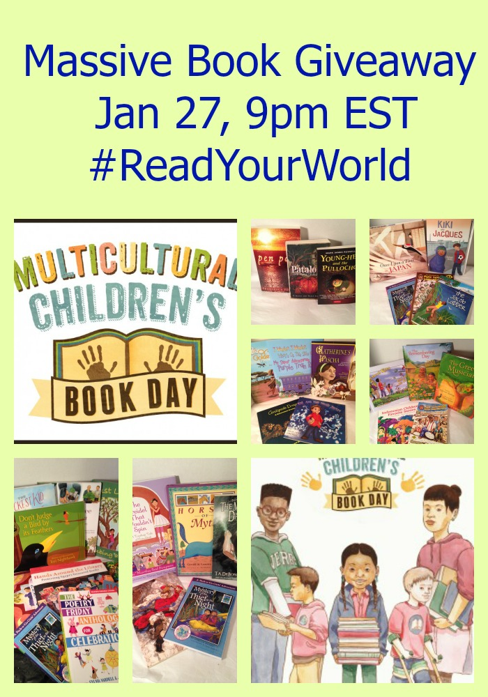 Massive Book Giveaway #ReadYourWorld
